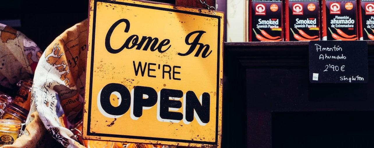 inbound sales process - come in we're open